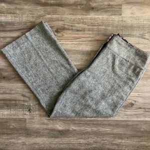 Nicole Miller Sparkly Gray Trousers
